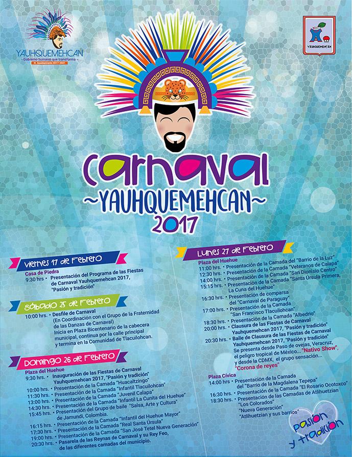 Carnaval de Yauhquemehcan 2017