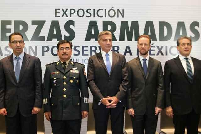 Sedena Y Gobierno De Puebla Presentan La Exposición Fuerzas