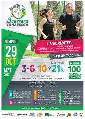 Carrera CONAPESCA en Mazatlán